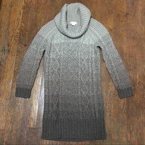 MICHAEL Michael Kors Chunky Cable Sweater Dress